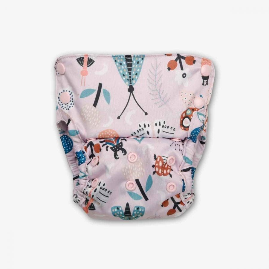 Organic Cover Diapers - Spring Day