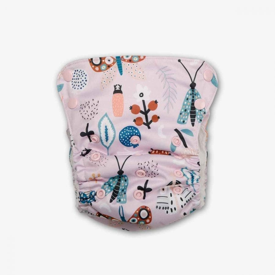 Organic Pocket Diapers - Spring Day