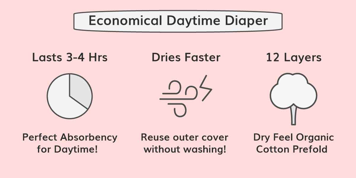 Free Size Diaper Cover - Cloth Cover Diaper for Babies