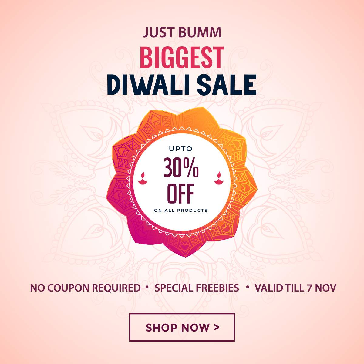 Diwali Sale on Cloth Diapers