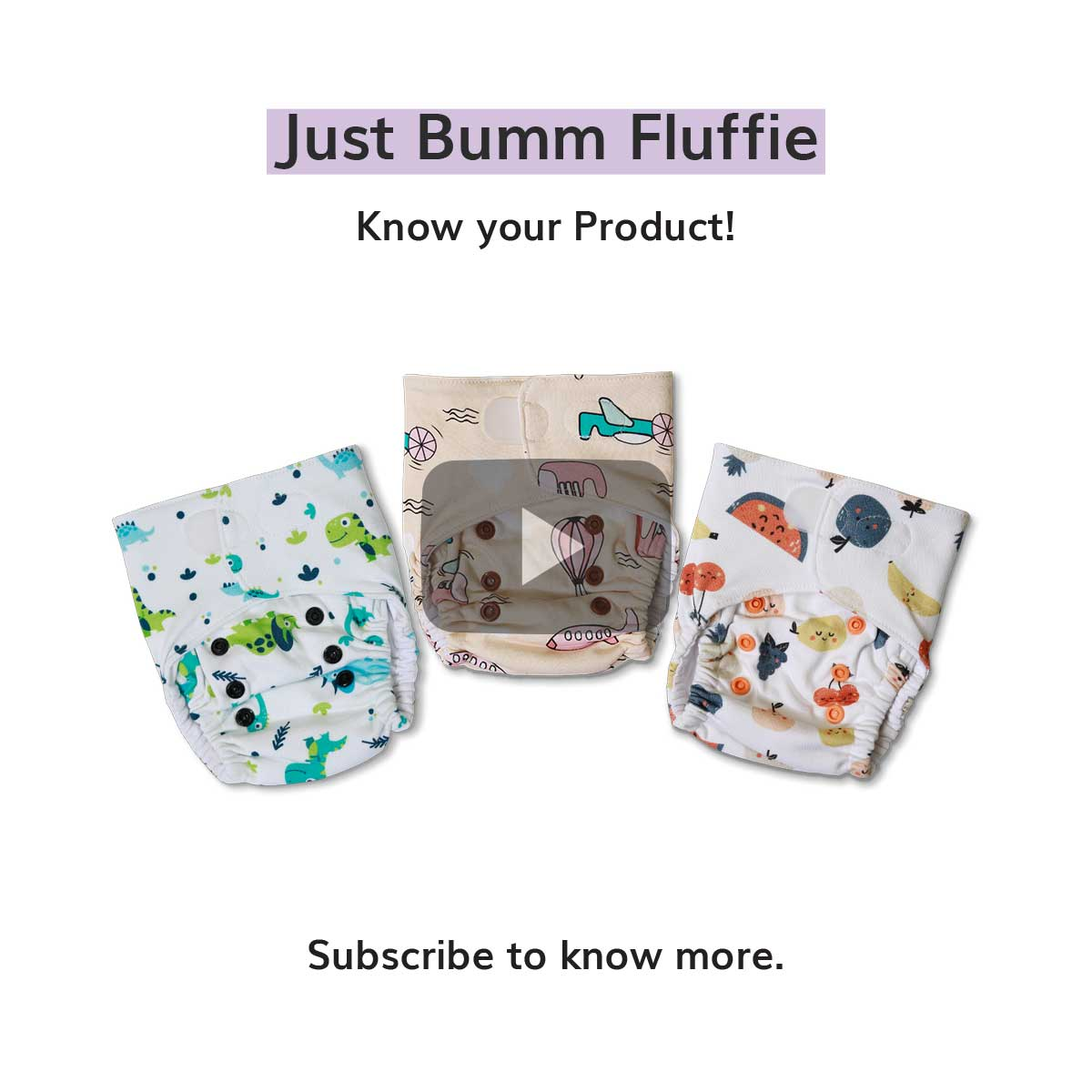 What is Just Bumm Fluffie? - Know your product