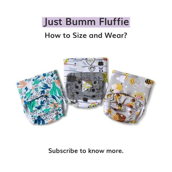 How to Size and Wear Just Bumm Fluffie?