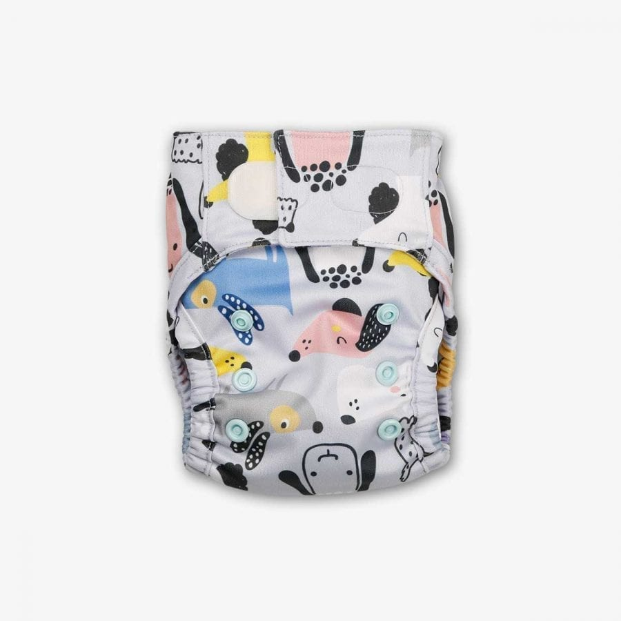 Newborn Diapers - PS I Woof You