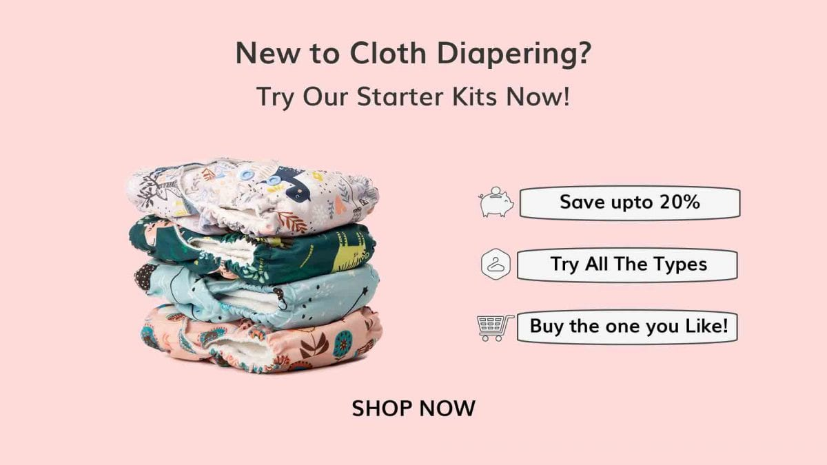 Save up to 20% on Cloth Diapers
